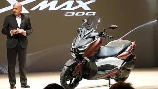 Download Yamaha X-Max 300 World Premiere in Milan - first look in 4K Video