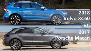 Download 2018 Volvo XC60 vs 2017 Porsche Macan (technical comparison) Video