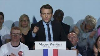 Download Macron ne laissera ″pas un centimètre d'espace″ à Le Pen Video