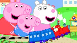 Download Peppa Pig Official Channel | Giant Peppa Pig and Suzy Sheep Visit Tiny Land Video
