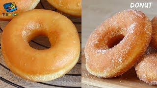 Download Best Donut / Donught Recipe for Kids Tiffin Box || Homemade Fried Donuts - ডোনাট রেসিপি Video