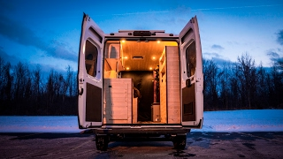 Download Tiny Home/Stealth Camper/Conversion Van Built In 180 Hours Video
