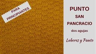 Download Como tejer el punto San Pancracio a dos agujas- Labores y Punto Video