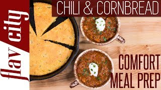 Download The Ultimate Beef Chili Recipe - Meal Prep For The Week Video