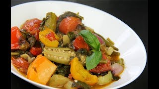 Download Caribbean Ratatouille (ital vegetable stew) #MeatFreeMonday | CaribbeanPot Video