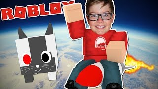 Download Taking my CYBORG PET to the MOON! - Roblox Pet Simulator Part 2 Video