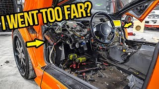 Download I RIPPED APART My Fast & Furious Lamborghini's Expensive Interior (It Was A NIGHTMARE!) Video