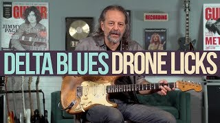 Download Delta Bluesy Drone Licks in the Key of E with Andy Aledort Video
