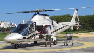 HUGE XXL RC AGUSTA A-109 SCALE MODEL TURBINE HELICOPTER FLIGHT