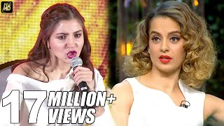 Download Anushka Sharma's BEST Reply To Kangana's Nepotism Comment On Koffee With Karan Season 5 Video