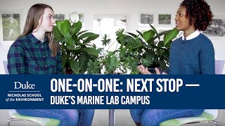 Download One on One: Next Stop - Duke's Marine Lab Campus Video