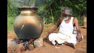 Download MUTTON !!! Simple Traditional MUTTON BIRYANI Prepared by my Daddy ARUMUGAM / Village food factory Video