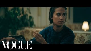 Download Alicia Vikander and Anna Wintour's Late-Night Run-In at the Magic Diner Video