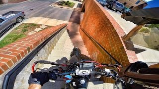 Download SUPERMOTO ADVENTURES | STAIRS OF DEATH!! Video