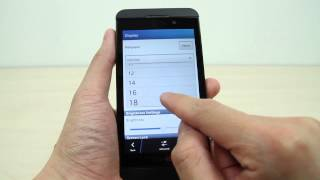 Download How to change your display and text size on BlackBerry Z10 Video