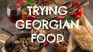 Download American Tries Georgian Food | Tbilisi, Georgia Video