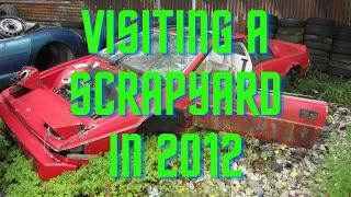 Download Scrapyard Visit - Rust in peace - 20/07/2012 - Junkyard Abandoned Cars UK Video