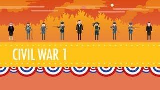 Download The Civil War, Part I: Crash Course US History #20 Video