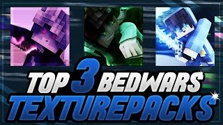 Download TOP 3 BEDWARS TEXTURE PACKS?! DIE BESTEN TEXTURE PACKS FÜR BEDWARS!!! | Minecraft Bedwars Video