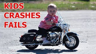 Download Kids fails on motorcycles 2017 Video