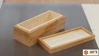 Download A Curly Hickory, Tiny Spline Mitered Box Video