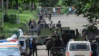 Download Clashes between soldiers and ISIL-affiliated militants continue in Marawi Video