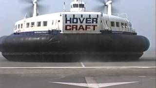 Download Hoverspeed hovercraft arriving in Calais Video