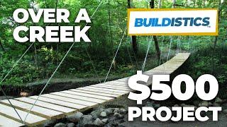 Download DIY Suspension Bridge - 54' Span Video
