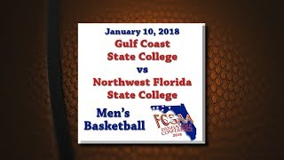 Download Panhandle Conference 2018 - GCSC @ NWFSC - January 10, 2018 - Men's Basketball Video