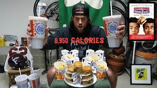 Download THE HAROLD & KUMAR WHITE CASTLE CHALLENGE (8,950 Calories) | L.A. BEAST Video