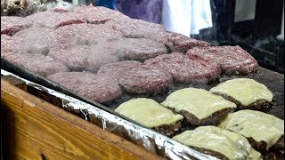 Download Huge English Burgers and Loads of Cheese Tasted in Partridges Market. London Street Food Video