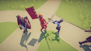 Download TABS | Dash Trio! Shogun + Minotaur + Knight VS All Units! Video