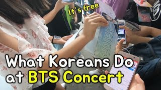 Download BTS Seoul Concert Experience! (Free Giveaway Heaven!!) 방탄소년단 콘서트 브이로그 Video