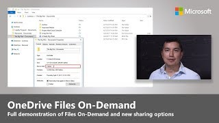 Download OneDrive for Business updates: simplified sharing and files on demand Video