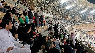 Download Saudi women attend football match for first time Video