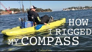 Download MY HOBIE COMPASS GEAR UPGRADES - from yakattack rod holders to rulers Video
