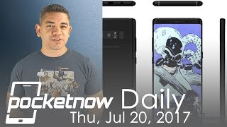 Download Samsung Galaxy Note 8 event and renders, Apple patents & more - Pocketnow Daily Video