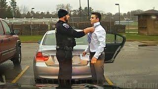 Download Dashcam: Police Officer Helps Speeding Student Tie His Tie Video