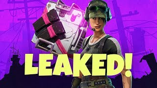 Download Fortnite: Eye Of The Storm Backpack Leaked! Video