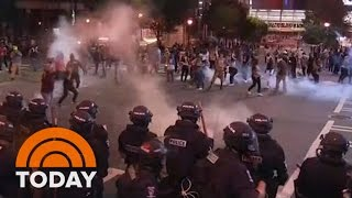 Download Charlotte Protests Turn Violent Again; Man Shot, State Of Emergency Declared | TODAY Video