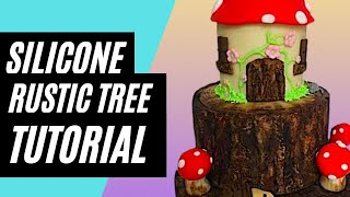 Download HOW TO MAKE A RUSTIC TREE STUMP USING A SILICONE IMPRESSION/TEXTURE MAT Video