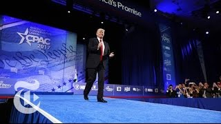 Download President Donald Trump's Full Speech At CPAC | The New York Times Video