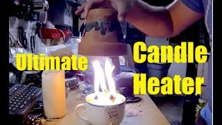 Download The Ultimate Flower Pot Candle Heater - DIY Radiant Space Heater - flower pot heater - Easy DIY Video