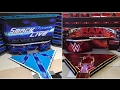 Download WWE Raw and Smackdown Live New Era Figure Stages! (2017) Video