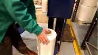 Download Eurofilms - Eurolite Pre-stretch machine pallet wrap film Video