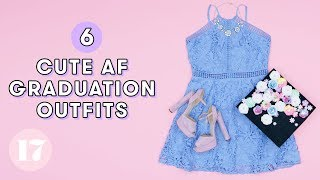 Download 6 Adorable Graduation Outfit Ideas | Style Lab Video