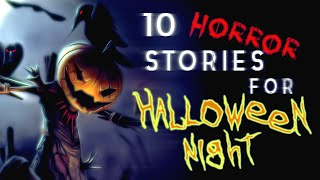 Download 10 HORROR STORIES for HALLOWEEN NIGHT | feat. UNIT 522, Olivia Steele, TJ Scorpio Video