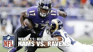 Download Rams vs. Ravens | Week 11 Highlights | NFL Video