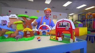 Download Blippi at the Indoor Play Place | Learning Movements Video