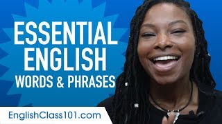 Download Essential English Words and Phrases to Sound Like a Native Video